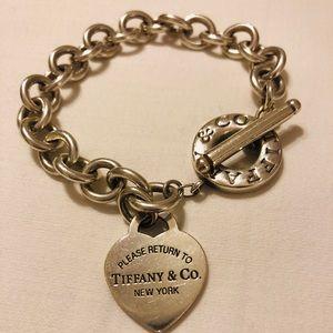 Tiffany & Co. Jewelry - Return to Tiffany heart tag toggle bracelet